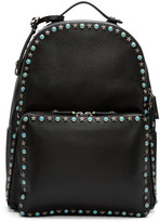 Valentino Black Stone & Stars Backpack