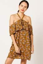 Azalea Ruffle Print Dress