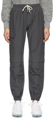John Elliott Grey Cotton Himalayan Lounge Pants