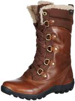 Timberland Mount Hope Fabric and Leather Waterproof Women's High Trainers Boot