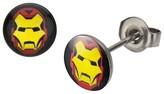 Iron Man Ironman Men's Marvel® Avengers Ironman Earring Studs