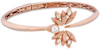 Hearts On Fire 18K Rose Gold 0.58 Ct. Tw. Diamond White Kites Bird Bangle Bracelet