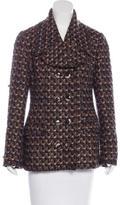 Dolce & Gabbana Wool Bouclé Coat