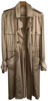 Valentino Beige Silk Coat for Women Vintage