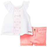 Hudson Top & Short 2-Piece Set (Baby Girls)