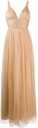 Maria Lucia Hohan Fabiana crystal-embellished tulle gown