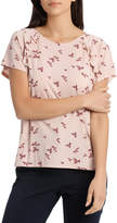 Frill Insert T-Shirt Print
