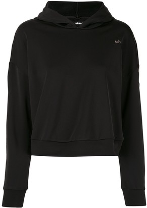 ULTRACOR Cropped Logo Hoodie