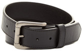 Will Leather Goods Leather Flat Strap Single Edge Belt