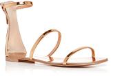 Giuseppe Zanotti Mirrored Calf Leather Nuvo Rock Triple Strap Sandals