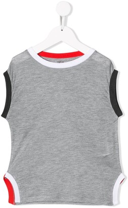 Stella McCartney Kids side slit T-shirt