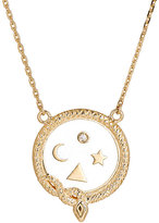 Foundrae Women's Wholeness Medallion Pendant Necklace