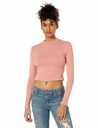 Roxy Junior's Joy and Smile Cropped Long Sleeve Shirt