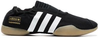 adidas black Taekwondo Fashion Week sneakers