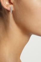 Monica Vinader Rose gold-plated diamond earrings