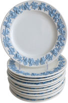 One Kings Lane Vintage Wedgwood Queensware Plates, S/12