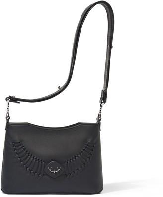 Yiy Drop Minibag & Crossbody Personalizable In Earth Black