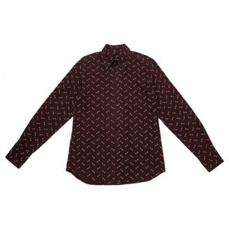Miu Miu Brown Cotton T-shirts