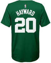 Nike Gordon Hayward Boston Celtics Icon Name & Number T-Shirt, Big Boys (8-20)