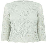 """Oasis LACE TOP [span class=""""variation_color_heading""""]- Pale Grey[/span]"""