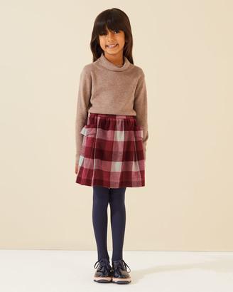 Jigsaw Woven Check Skirt