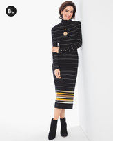 Chico's Striped Sweater Dress