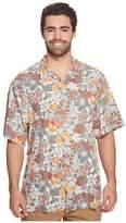 Tommy Bahama Big Tall Subtropical Palm IslandZone Camp Shirt Men's Clothing