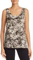 Kenneth Cole Printed Scoop Tank