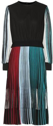 BODICE Pleated cotton midi dress