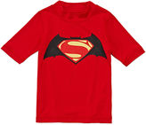 Asstd National Brand Batman vs. Superman Rash Guard - Preschool Boys 4-7