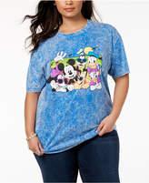 Disney Plus Size Cotton Beach Buddies T-Shirt