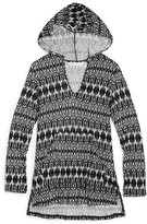 Ella Moss Girls' Tribal Dream Hoodie Cover Up - Sizes 7-14