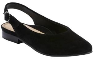 Earth Women's Uptown Ursula Sling Back Flats Women's Shoes