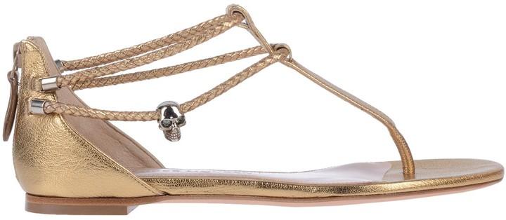 Alexander McQueen Toe strap sandals