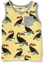 Old Navy Toucan-Print Tank for Toddler