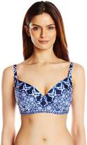 LaBlanca La Blanca Women's Tangier Over The Shoulder Underwire D Cup Bikini Top