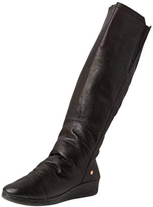 Softinos Women's Axi475Sof High Boots, Black (Black 000), 35 EU