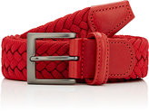Barneys New York MEN'S WOVEN BELT