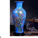 ChinaVase Ceramic water lily vase/Home decoration/ living flower arrangement/ wedding gifts/ TV Ark ornaments