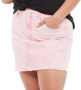 So Juniors' Plus Size SO 5 Pocket Denim Skirt