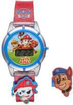 Paw Patrol Kids' Digital Chase & Marshall Charm Watch