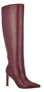 Nine West Women's Maxim Tall Stiletto Boots Women's Shoes