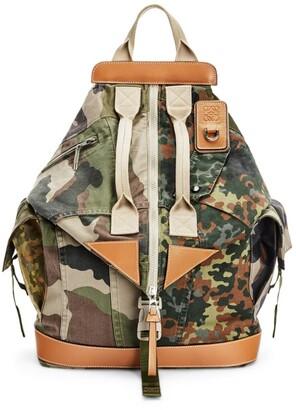 Loewe Camouflage Convertible Backpack