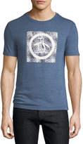 Original Penguin Splatter Circle Logo Crewneck T-Shirt