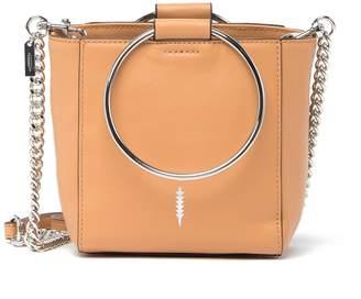 THACKER Le Bucket Mini Leather Ring Handle Bag