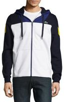 Lacoste Colorblock Hooded Jacket