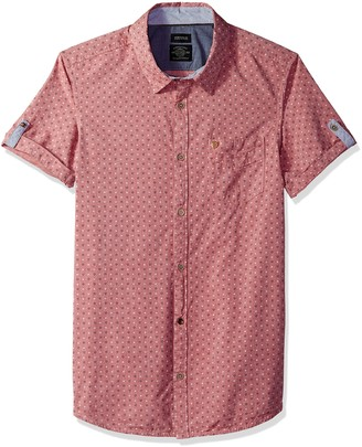 Buffalo David Bitton Men's Suton Short Sleeve Button Down Shirt