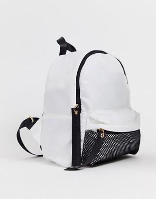 Yoki Fashion monochome backpack