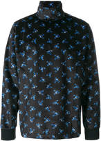 Kenzo printed high-neck top