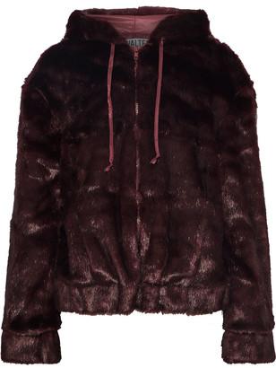 Walter Baker Yumi Faux Fur Hooded Jacket